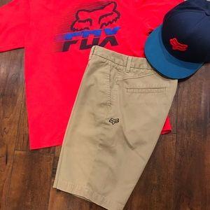 Boys FOX Khaki Shorts